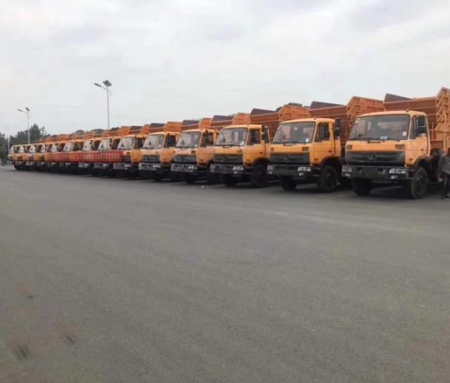 出口马达加斯加120台环卫车