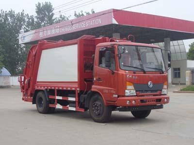 东风嘉运10方压缩式垃圾车