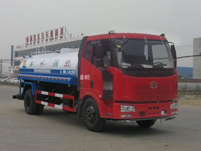 解放J6型10方洒水车