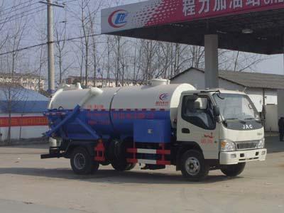江淮6方清洗吸污车