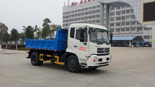 东风天锦自卸式垃圾车