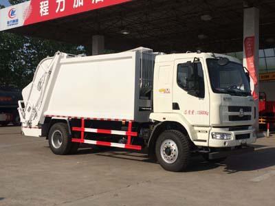 东风柳汽12方压缩式垃圾车