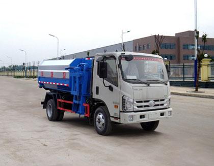 福田时代5方自装卸式垃圾车