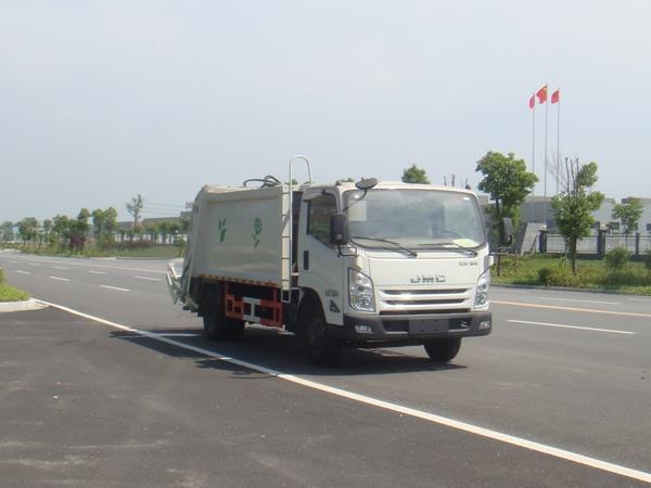 江铃6方压缩式垃圾车